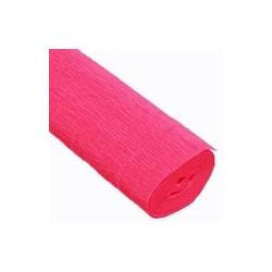Ярко-розовый, креп(гофробумага), 2,5*0,5м