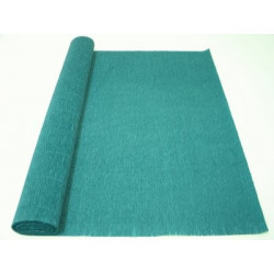 Сине-зеленый, креп(гофробумага), 2,5*0,5м