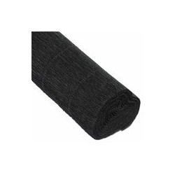 Черный, креп(гофробумага), 2,5*0,5м