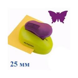 Бабочка №2, фигурный дырокол, 25мм, Mr. Painter