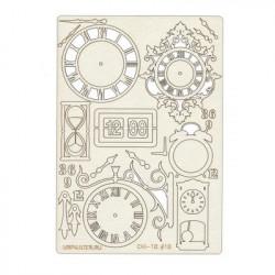 Часы, чипборд 11,5*16,5 см Mr. Painter