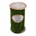 Зеленый, лента из натурального мха 16 см 1,2 м. Blumentag