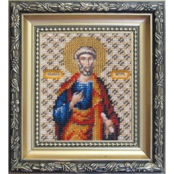 Икона апостола Петра, набор д/выш. Чарiвна Мить