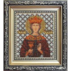 Икона Варвара, набор д/выш. Чарiвна Мить