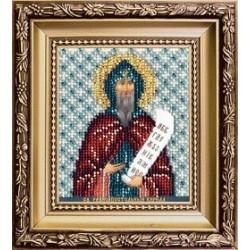 Икона святого равноапостольного Кирилла , набор д/выш. Чарiвна Мить