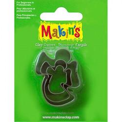 Ангел, набор резцов для полимерной глины, Makins, 3 шт