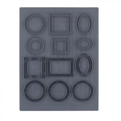 Рамочки, штамп резиновый 10.5х14 см. Craft&Clay