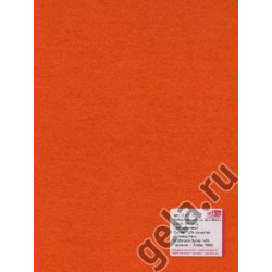 Оранжевый, фетр 2мм, 30х45см 100% полиэстер Efco Германия