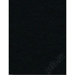 Черный, фетр 2мм, 30х45см 100% полиэстер Efco Германия