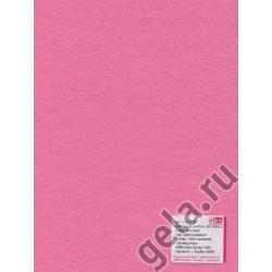 Розовый светлый, фетр 2мм, 30х45см 100% полиэстер Efco Германия
