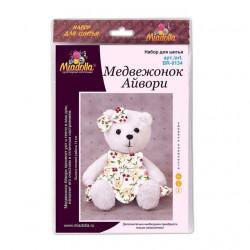 Медвежонок Айвори, набор для шитья. Miadolla