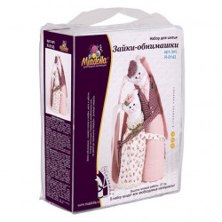 Зайки-обнимашки, набор для шитья. Miadolla