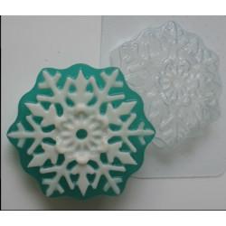 Снежинка, пластиковая форма
