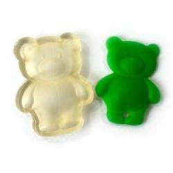 Медвежонок-форма, штамп для мыла