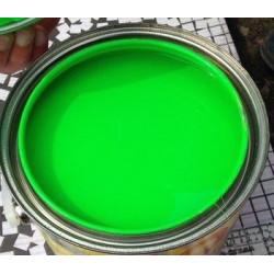 Неоновый зеленый, пастообразный краситель для мыльной основы 15мл