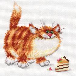 Вкусняшка!, набор для вышивания крестиком, 15х14см, 12цветов Алиса