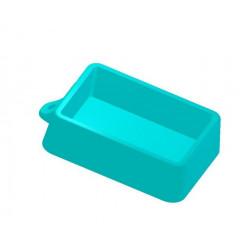 Геометрия прямоугольник 6х9см, 3D силиконовая форма для мыла