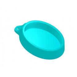 Геометрия овал 6х9см, 3D силиконовая форма для мыла