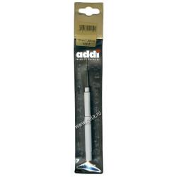 Крючок, вязальный, экстратонкий с ручкой, №1,5, 13 см.