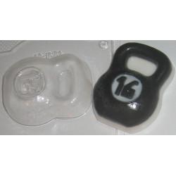 Гиря, пластиковая форма XD