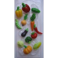 Овощное ассорти, пластиковая форма