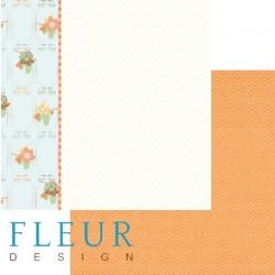 Запасы, коллекция Дыхание осени, бумага для скрапбукинга 30x30см, 190г/м Fleur Design