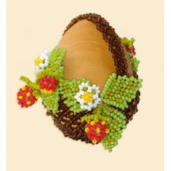 Яйцо пасхальное, набор для бисероплетения. Риолис