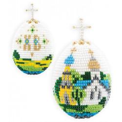 """Яйцо """"Церквушка"""", набор для бисероплетения. Риолис"""