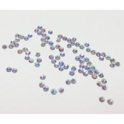 Перламутр, стразы клеевые 2.7 мм, акрил, 144 шт, Zlatka