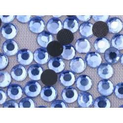 Св.голубой, стразы клеевые 2.7 мм, акрил, 144 шт, Zlatka