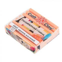 Оранжевый кадмий, полимерная глина, 52гр. Craft&Clay