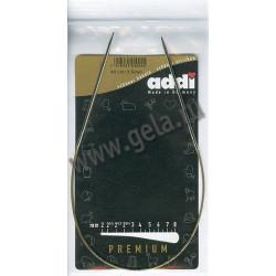 Спицы, круговые, супергладкие, никель, N2,5, 40 см, Addi