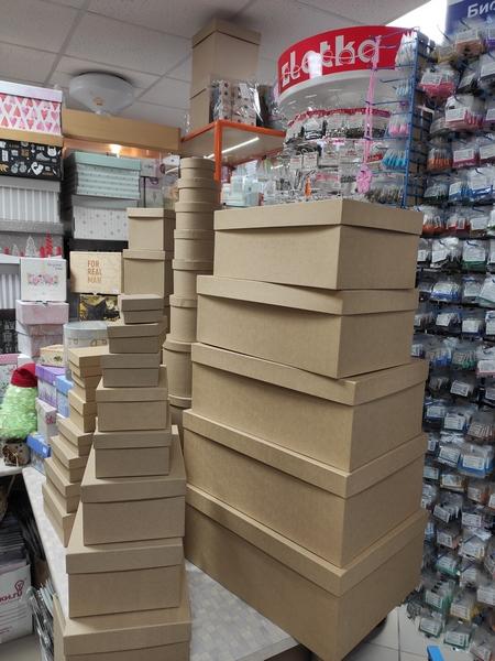Крафт коробки в Пензе