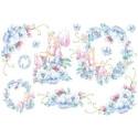 Цветочные феи, бумага рисовая для декупажа 48х33см 28г/м? Stamperia