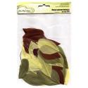 Осень, декоративные перья 5-6см 3гр±0,5гр, Mr. Painter