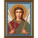 Ангел Хранитель, ткань с рисунком для вышивания бисером формат А4