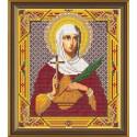 Татьяна(Татиана) Св., ткань с рисунком для вышивания бисером формат А4