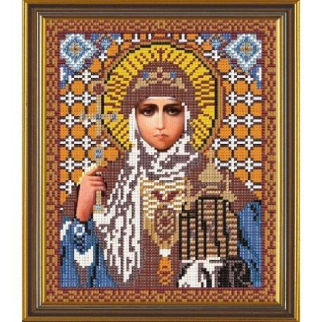 Ольга Св., ткань с рисунком для вышивания бисером формат А4