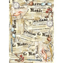 Карта для декупажа Stamperia, 1 лист, 50х70 см.