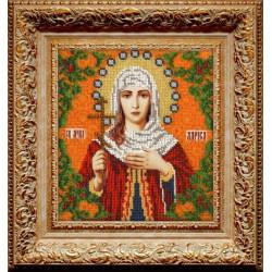 Лариса Святая, набор для вышивания бисером 19х21см, Вышиваем бисером