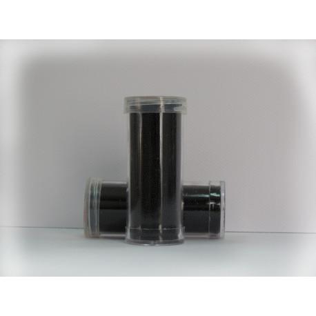 Черный, микробисер 0.6-0.8мм 30г, Zlatka