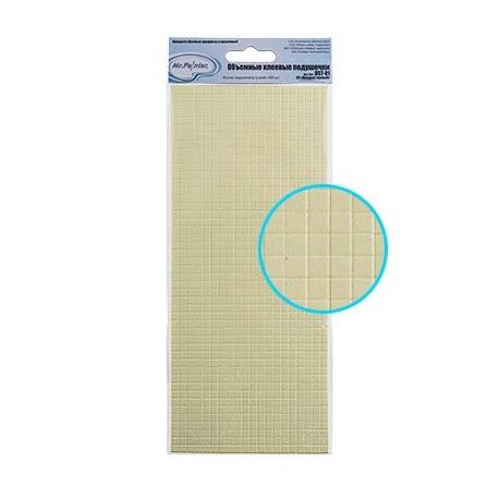 Квадрат малый, двусторонний скотч 10 x 23.5 см Mr.Painter