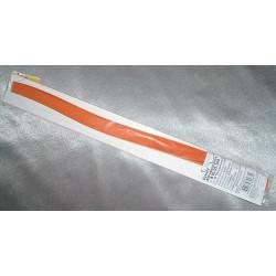 Мандариновый, цвет №8, бумага для квиллинга 3мм, 100 полос, Mr.Painter