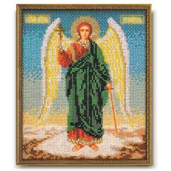Ангел Хранитель, набор для вышивания бисером 18х22см Радуга Бисера