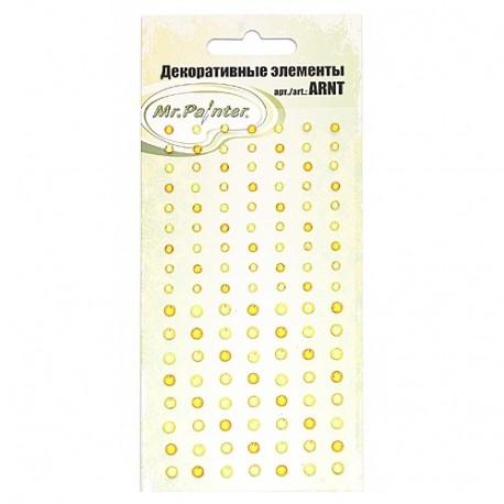 Желтый ассорти, декоративные элементы 119шт, Mr. Painter