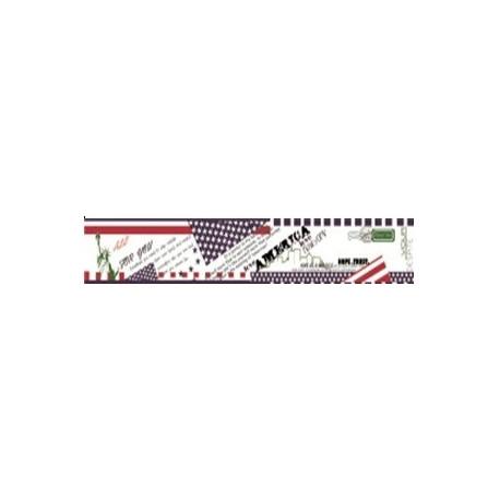 Бумажный скотч с принтом АМЕРИКАНСКАЯ МЕЧТА 30мм*8м