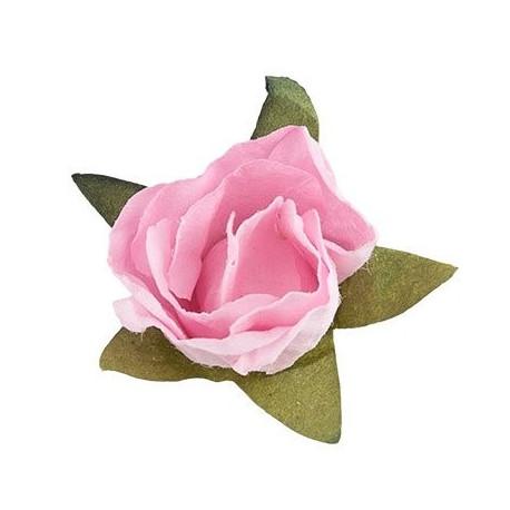 """Розовый рассвет (розовый), декоративные элементы """"Цветы"""", 12шт, Mr.Painter"""