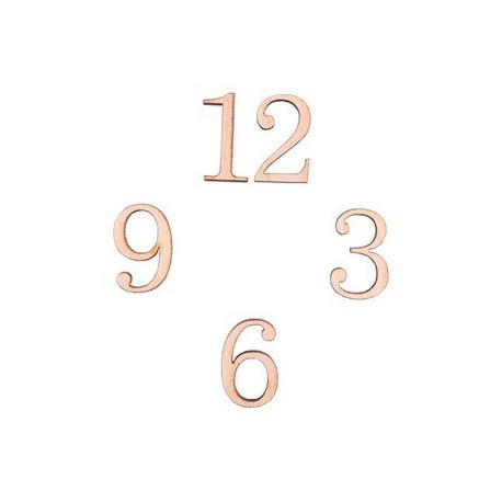 Классические цифры, заготовки для декорирования фанера 4мм 2,4см 4шт. Mr.Carving