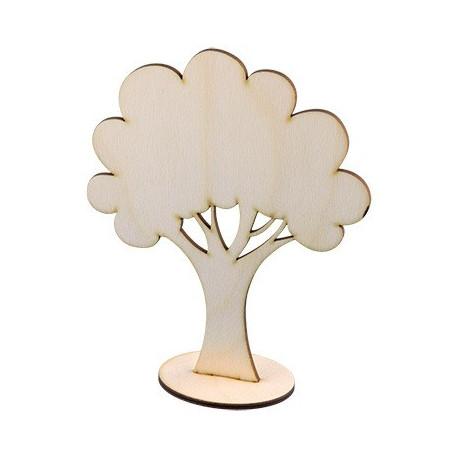 Дерево с подставкой, заготовка для декорирования фанера 18см. Mr.Carving