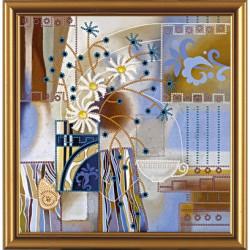 ВДОХНОВЕНИЕ.набор для вышивания бисером, 24х25см, 7цветов НоваСлобода